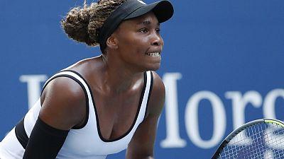فينوس تجتاز الدور الأول بسهولة في أمريكا المفتوحة
