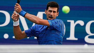 Djokovic finds comfort zone early at U.S. Open