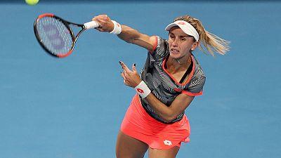 Tsurenko withdraws from U.S. Open with elbow injury