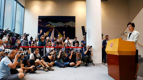 Hong Kong violence becoming more serious, but government in control, says Lam