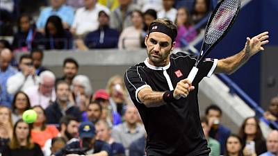 Federer overcomes Nagal scare to reach second round
