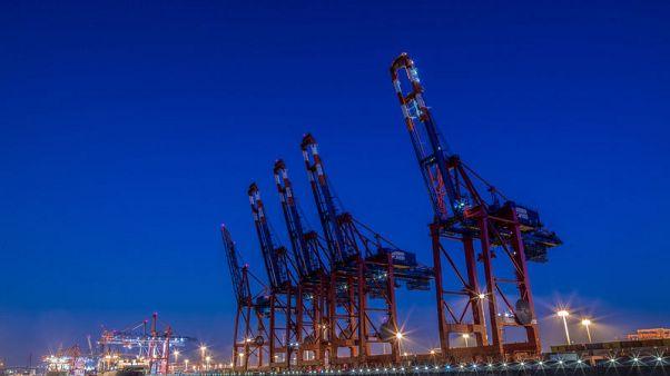Weaker exports hit German economy but budget surplus still high