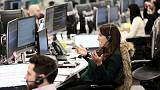 Banks lead Britain's FTSE 100 lower; IWG shines