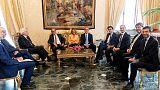 Italy's 5-Star, PD talking again as Trump backs Conte's return as PM