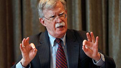 المستشار الأمريكي بولتون يصل إلى أوكرانيا لإجراء محادثات