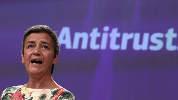 EU's Vestager - checking to see if Google favours own job search tool