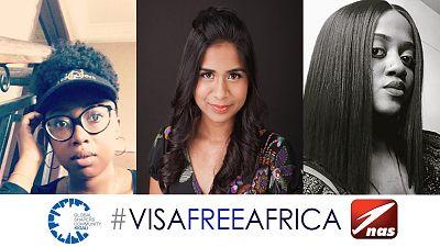 #L'initiative VisaFreeAfrica Annonce Les Lauréats Du Concours 55 Voices For Africa
