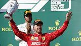 F1: Vettel,Spa è tra mie piste preferite