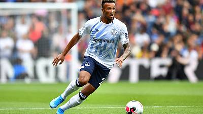 Everton's Gbamin to miss eight weeks with thigh injury