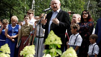 Poland's ruling party has 41% support before October vote - Indicator