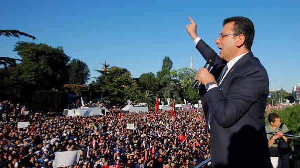 Istanbul's new opposition mayor cuts funding to some pro-government groups