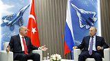 أردوغان يقول إن تركيا تريد مواصلة التعاون الدفاعي مع روسيا