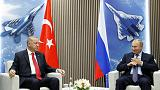 Russia, Turkey agree steps to tackle militants in Syria's Idlib - Putin