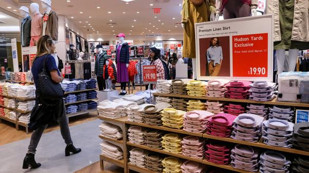 U.S. consumer confidence falls but only slightly despite trade fight