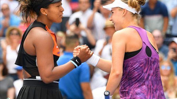 Osaka survives Blinkova battle in U.S. Open first round