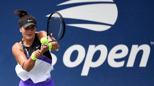 Canada's Andreescu eases into U.S. Open second round