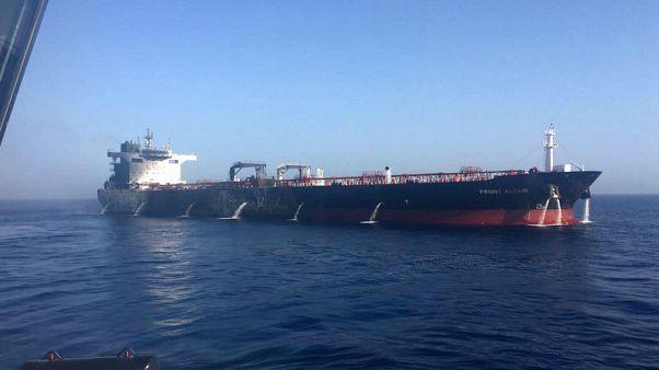 Frontline's blast-hit oil tanker seen back in operation in fourth quarter