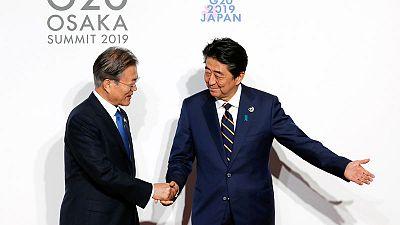 أمريكا تأمل بأن تتمكن كوريا الجنوبية واليابان من إعادة بناء علاقاتهما