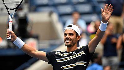 Fabulous Fabbiano stuns Thiem in U.S. Open first round