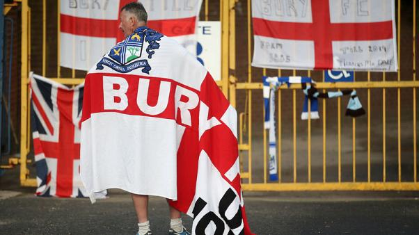 Third-tier Bury expelled from Football League - EFL statement
