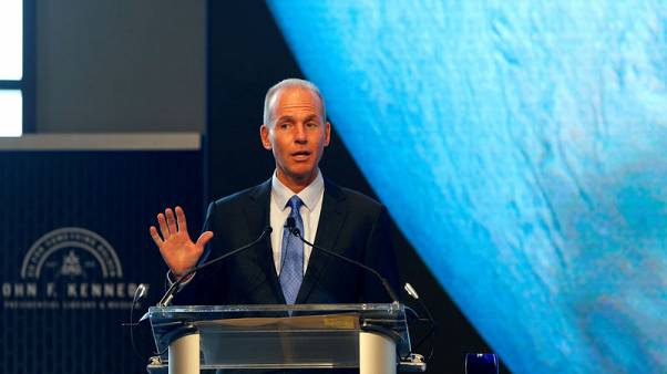 Exclusive: Financial hit from 737 MAX will not slow appetite for services deals - Boeing CEO