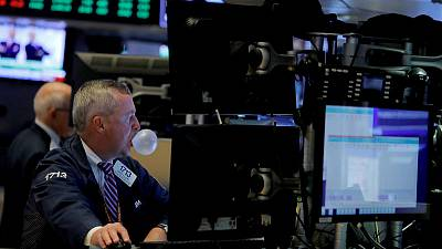 Global stocks rise as recession, trade worries ebb; sterling tumbles
