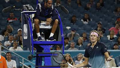 Tennis: ATP fires chair umpire Steiner