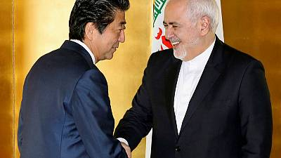 Iran's Zarif to Japan PM - we are not seeking heightened tensions