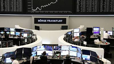 European stocks fall as recession fears ramp up