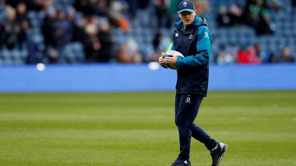 Ireland coach Schmidt confident of Carbery fitness for World Cup