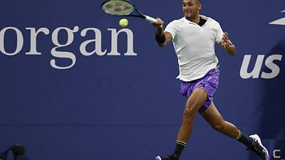 Kyrgios accuses ATP of being 'corrupt' after U.S. Open win