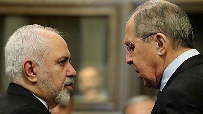 وكالة: لافروف وظريف يلتقيان في موسكو في الثاني من سبتمبر