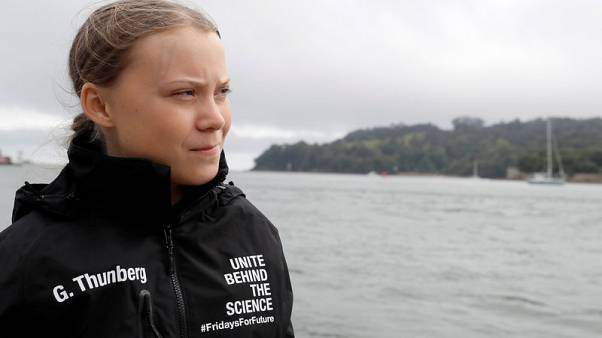 Swedish teen climate activist to sail into New York for U.N. summit
