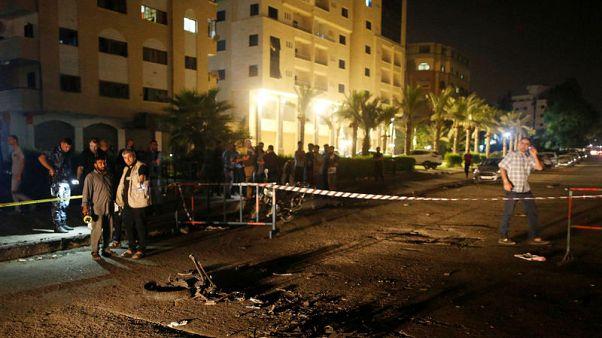 Hamas says Gaza blasts that killed three policemen were suicide bombings
