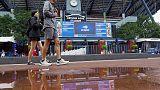 Rain delays start of some U.S. Open Day Three matches