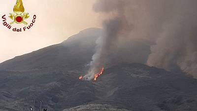 Italy's Stromboli volcano erupts for second time in two months, no injuries