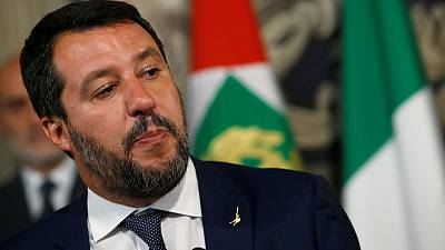 Italy's Salvini bans latest migrant ship entering waters