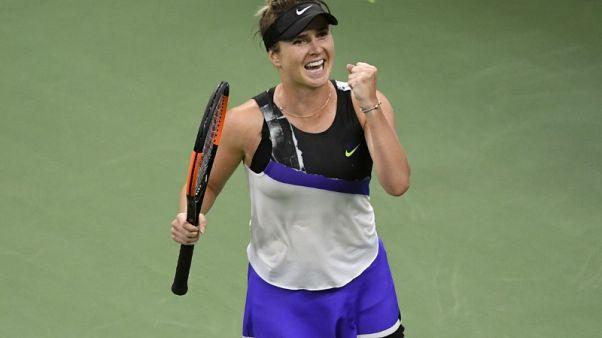 Svitolina wears down Venus to reach U.S. Open third round