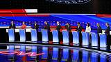 With Democratic debate deadline looming, two polls show no bump for bottom-tier candidates