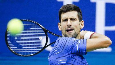 Tennis: Us Open, Djokovic piega Londero