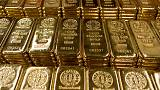 الذهب يهبط مع صعود الدولار والأسهم بعد تعليقات إيجابية بشأن التجارة بين أمريكا والصين