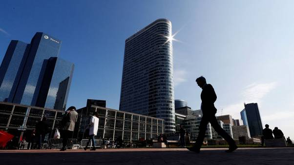 French second-quarter growth revised up to 0.3%
