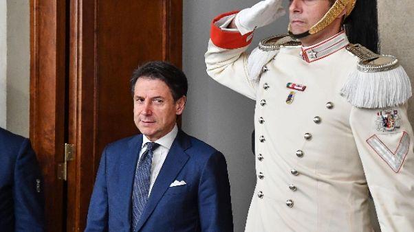 Conte, recuperiamo tempo perduto in Ue
