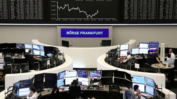 European shares slip on recession, Brexit worries