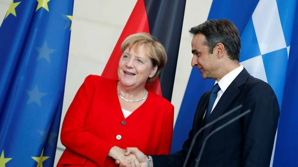 Greek PM says settlement of WW2 reparations claim would boost German ties