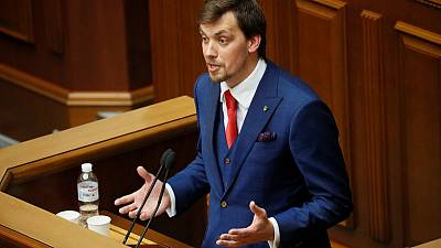 Political novice Honcharuk appointed Ukraine PM, to focus on economy