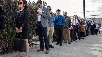 ارتفاع طفيف لطلبات إعانة البطالة الأمريكية الأسبوع الماضي
