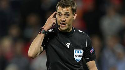 French referee praised for stopping match over homophobic banners