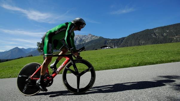 Cycling - Roche and Uran amongst four Vuelta withdrawals