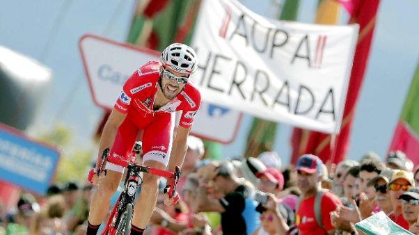 Vuelta: 6/a tappa a Herrada,Teuns leader